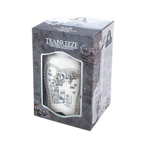 Чай черный Teabreeze Земляника со сливками подарочный набор, 100 гЧай<br>