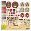 """Бумага Craft Premier 30,5x30,5 см, 4 листа, CP01234 """"На крыльях любви"""""""