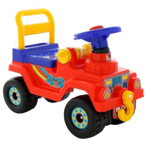 Купить Каталка-толокар Molto Джип 4x4 №2 (62819 / 62826 / 62833) красный, Каталки и качалки