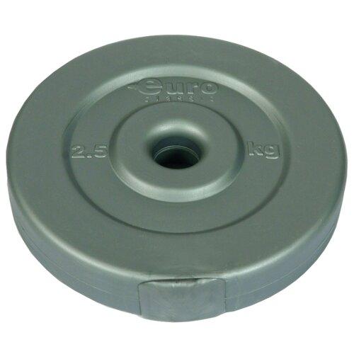 Диск Euro classic композитный 2.5 кг серебристый металлик