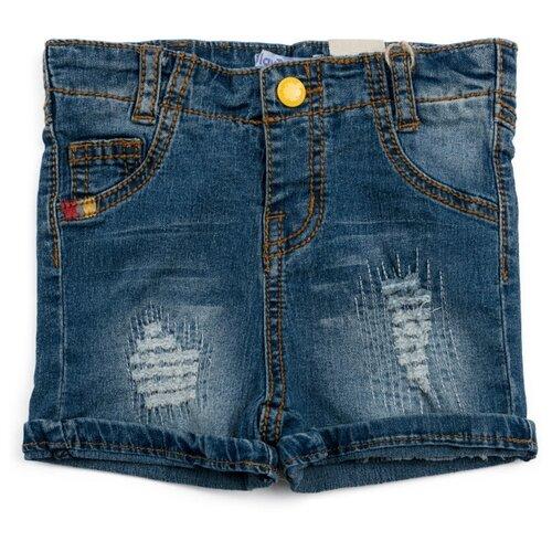 Шорты playToday размер 98, синий шорты playtoday размер 98 серый