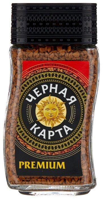 Кофе растворимый Черная Карта Премиум Колумбия сублимированный, стеклянная банка — купить по выгодной цене на Яндекс.Маркете