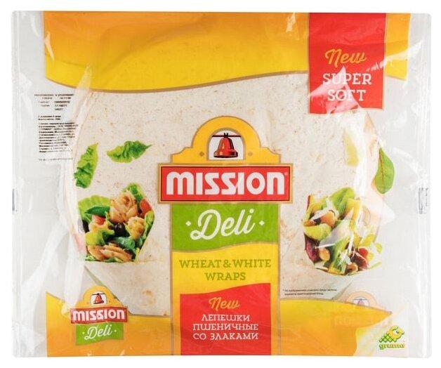 Лепешки пшеничные Mission Deli со злаками, 250 г
