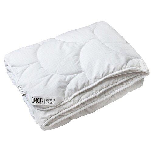 Одеяло DREAM TIME Легкое лебяжий пух, всесезонное, 200 х 220 см (белый) одеяло dream time верблюжья шерсть всесезонное 172 х 205 см кремовый
