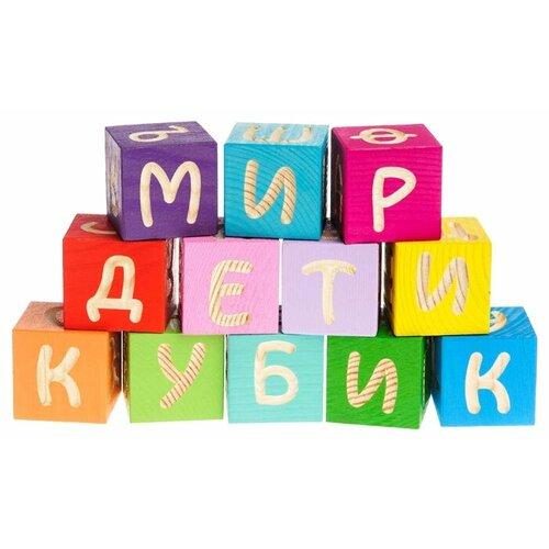 Купить Кубики Томик Веселая Азбука 1111-4, Детские кубики