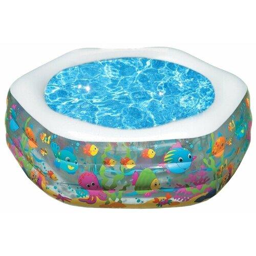 Детский бассейн Intex Ocean Reef 56493 круг для плавания детский intex ocean reef 61см 59242