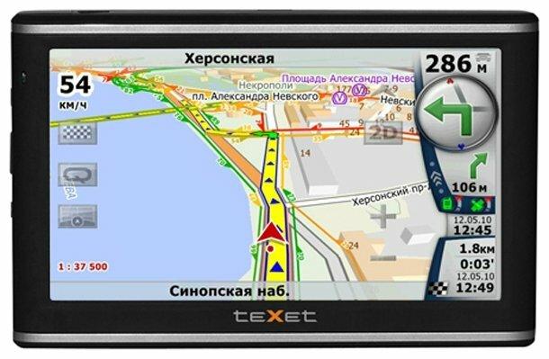 Навигатор teXet TN-606