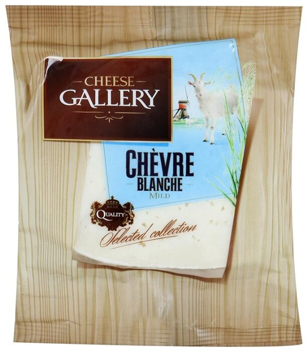 Сыр Cheese Gallery полутвердый козий 175г 50%
