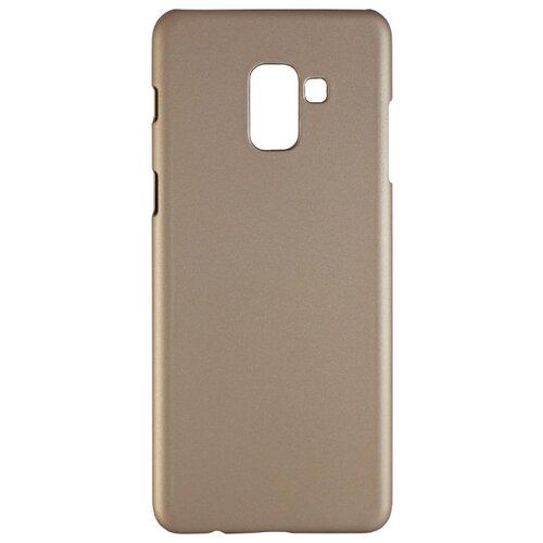 Чехол Volare Rosso Soft-touch для Samsung Galaxy A8 Plus (поликарбонат) золотойЧехлы<br>
