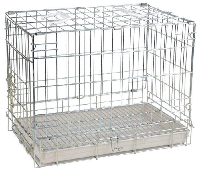 Triol Клетка для животных, хром (51х33х40см)