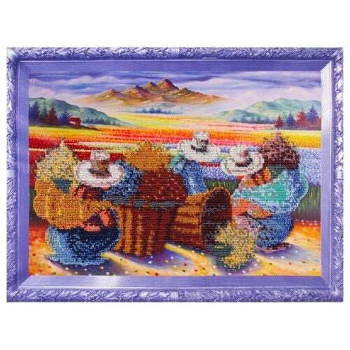 Купить Color Kit Набор для вышивания бисером Цветочницы, Наборы для вышивания