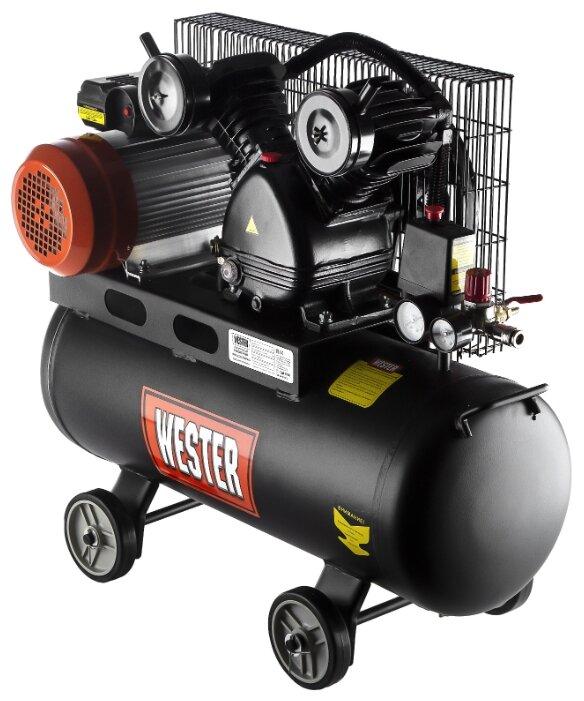 Компрессор масляный Wester WBK2200/50PRO, 50 л, 2.2 кВт — купить по выгодной цене на Яндекс.Маркете