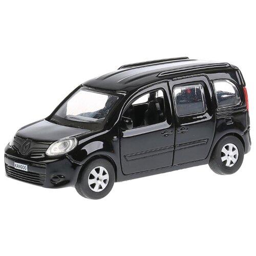 Легковой автомобиль ТЕХНОПАРК Renault Kangoo (KANGOO-SL/BK/RD) 12 см черный внедорожник технопарк renault koleos koleos bu gn sl bk 12 см черный