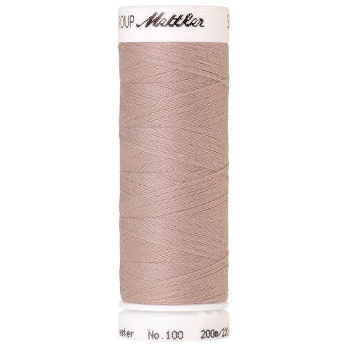 AMANN GROUP Mettler Нить универсальная Seralon 1678, 0601 Pale Pink 200 м