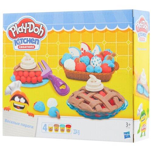 Масса для лепки Play-Doh Ягодные тарталетки (B3398) play doh play doh малыши динозаврики