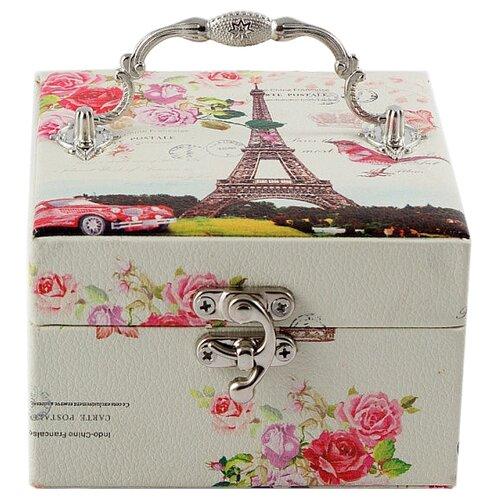 Русские подарки Шкатулка 84551 красный/белый подарки