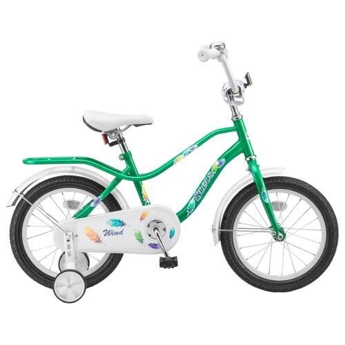 Детский велосипед STELS Wind 14 Z010 (2018) зеленый (требует финальной сборки)