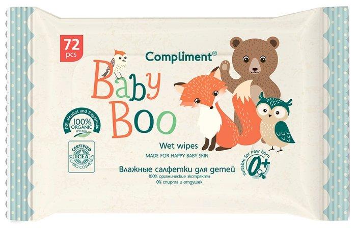 Влажные салфетки Compliment baby boo