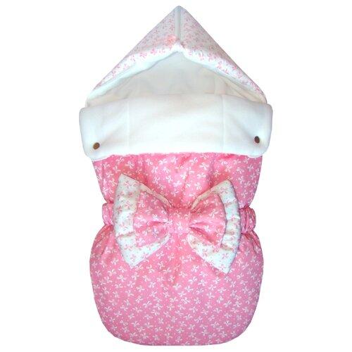 Конверт-мешок СуперМаМкет JustCute лето с бантом 68 см джульетта/розовыйКонверты и спальные мешки<br>