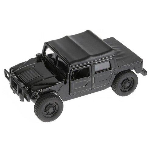 Купить Внедорожник ТЕХНОПАРК Hummer H1 (SB-18-09-H1-N-WB) 1:38 12 см черный, Машинки и техника