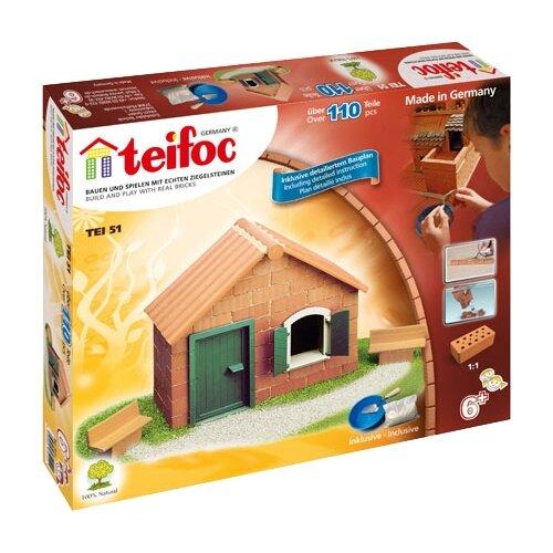 Фото - Конструктор TEIFOC Classics TEI51 Строительный набор конструктор teifoc classics tei9010 цветник