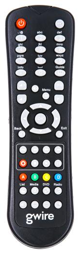 Пульт ДУ Air Mouse G10 с гироскопом и голосовым управлением для Android TV Box, PC, цвет черный