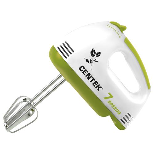 Миксер CENTEK CT-1111, белый/салатовый