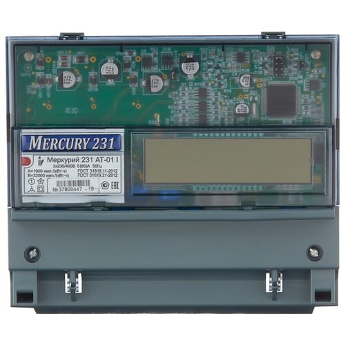 Фото - Счетчик электроэнергии трехфазный многотарифный INCOTEX Меркурий 231 АT-01 I (2 тарифа) 5(60) А счетчик электроэнергии однофазный многотарифный incotex меркурий 206 rn 5 60 а