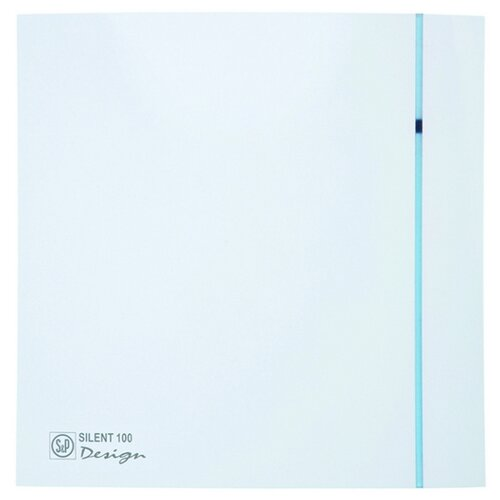 Вытяжной вентилятор Soler & Palau SILENT-100 CZ DESIGN, белый 8 Вт