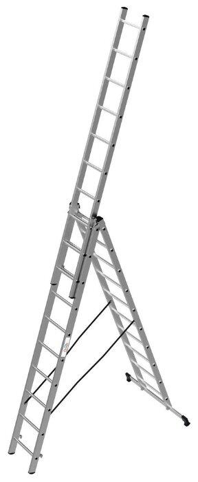 Лестница телескопическая 3-секционная ОЛИМП 1230310 A