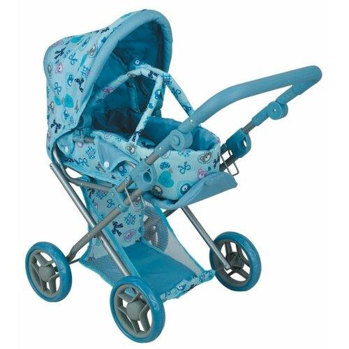 Коляска-трансформер Melobo / Melogo 9346 голубой коляска трансформер melobo melogo 9336 розовый цветочки