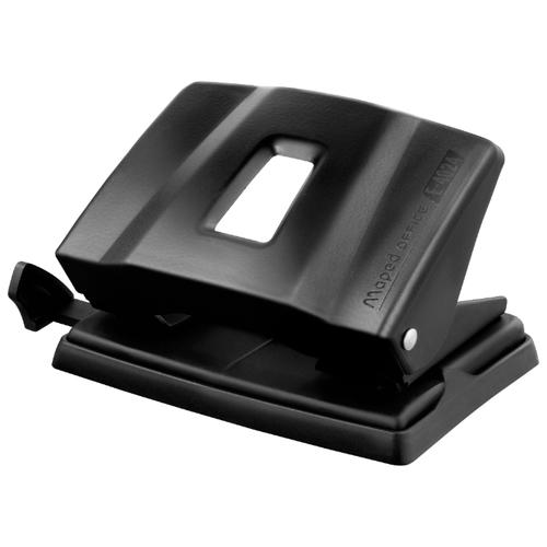 Купить Дырокол Maped Essentials Metal E4024-E4023 25 листов, черный, Дыроколы