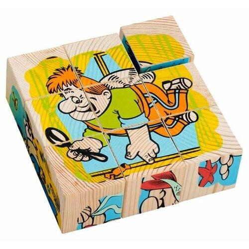 Кубики-пазлы Томик Герои сказок 4444-2 кубики пазлы томик транспорт