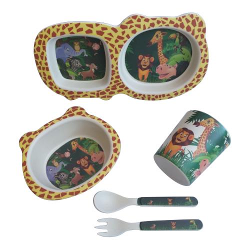 Комплект посуды Baby Ryan BF003 мадагаскарПосуда<br>