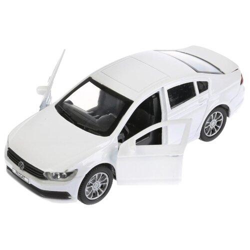 Купить Легковой автомобиль ТЕХНОПАРК Volkswagen Passat (PASSAT-SL/WT/BK) 1:36 12 см белый, Машинки и техника