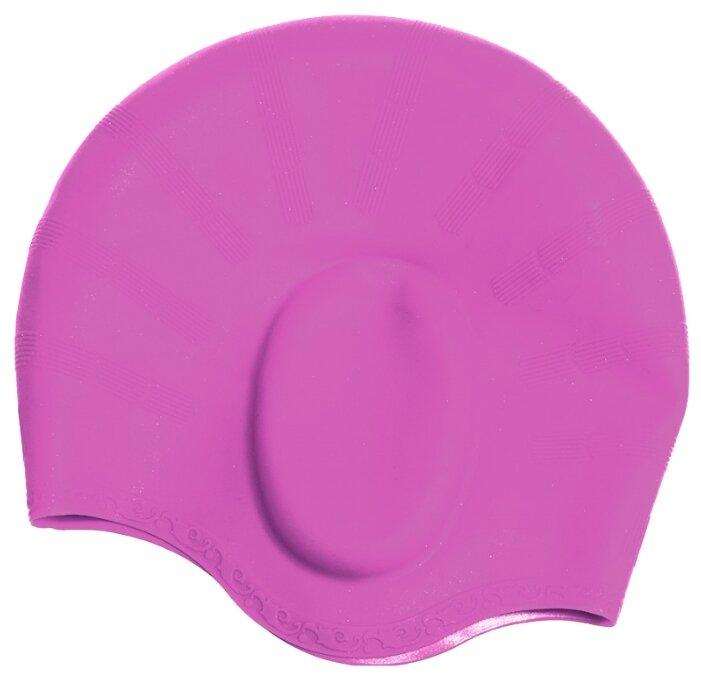 Шапочка для плавания BRADEX силиконовая с выемками для ушей