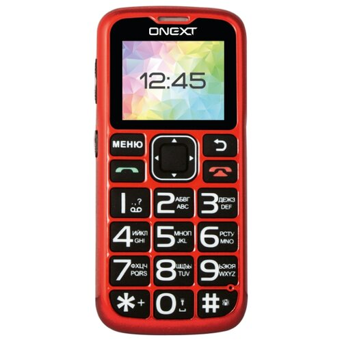 Телефон ONEXT Care-Phone 5 красный телефон onext care phone 6 красный