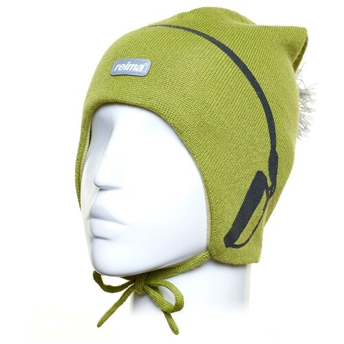 Шапка Reima размер 48, olive шапка reima размер 48 pink