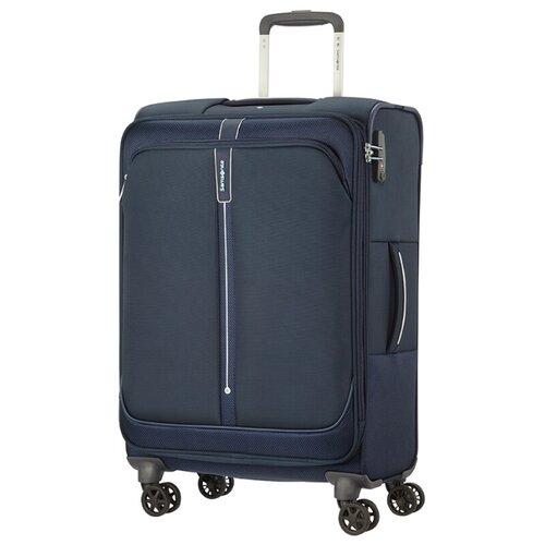 Чемодан Samsonite Popsoda M 73.5 л, Темно-синий/Dark Blue чемодан samsonite s cure s 34 л
