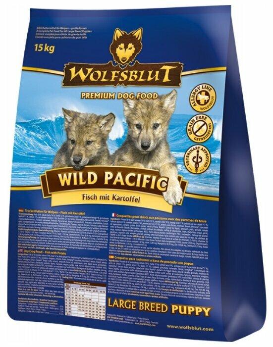 Корм для собак Wolfsblut Wild Pacific Large Breed Puppy