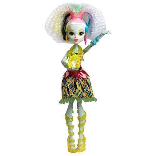 Фото - Интерактивная кукла Monster High Под напряжением Фрэнки Штейн, 29 см, DVH72 mattel monster high кукла призрачно clawdeen wolf