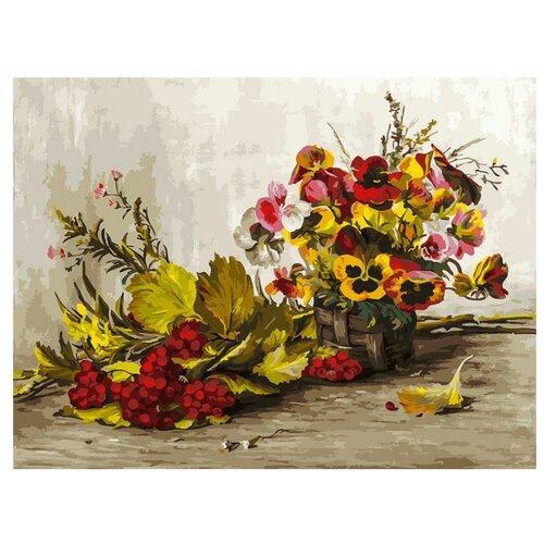 Купить Белоснежка Картина по номерам Осень 30х40 см (267-AS), Картины по номерам и контурам