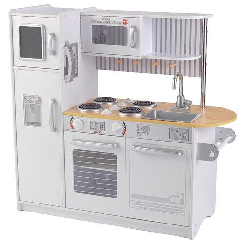 Купить Кухня KidKraft 53364 белый/коричневый, Детские кухни и бытовая техника