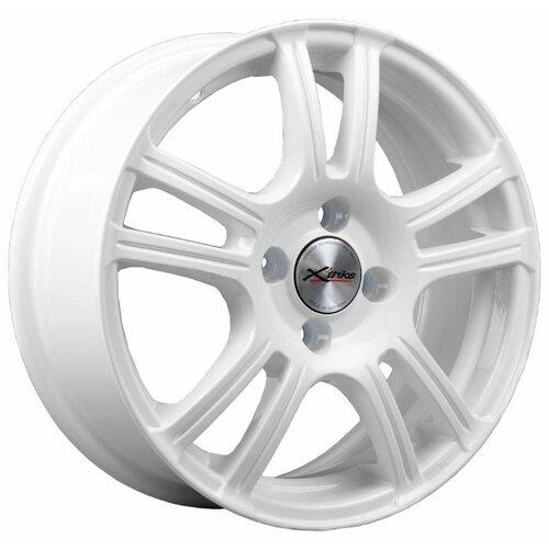 Фото - Колесный диск X'trike X-105 6x15/4x100 D54.1 ET45 W колесный диск x trike x 105 6x15 4x100 d67 1 et45 bk fp