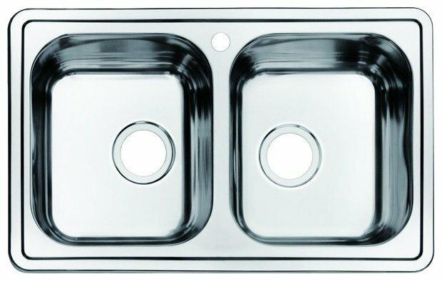Врезная кухонная мойка IDDIS Strit STR78P2i77 78х48см
