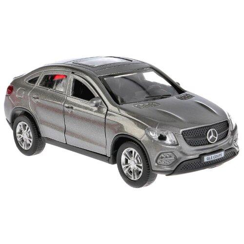 Купить Легковой автомобиль ТЕХНОПАРК Mercedes-Benz Gle Coupe (GLE-COUPE-GY/WT/BE) 12 см серый, Машинки и техника