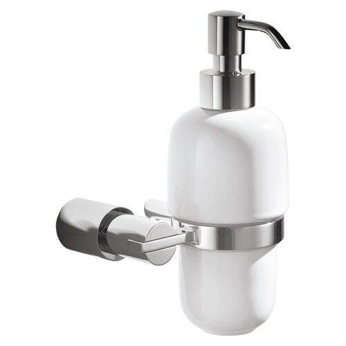 Дозатор для жидкого мыла IDDIS Monet MONSBC0i46 хром/белый дозатор для жидкого мыла iddis calipso calmbg0i46
