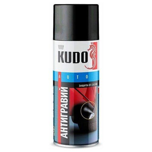 Жидкий антигравий KUDO KU-5221-5223 черный 0.52 л баллончик