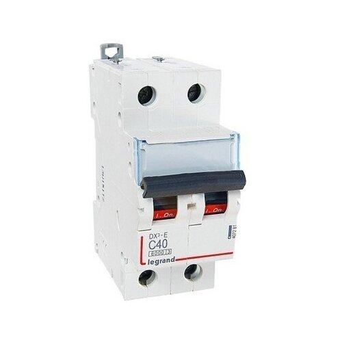 Автоматический выключатель Legrand DX3-E 2P (С) 6kA 25 А