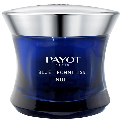 Payot Blue Techni Liss Хронорегенерирующий бальзам для лица, 50 мл ночной хроноактивный бальзам для лица payot blue techni liss 50 мл